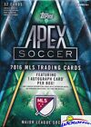 (6) 2016 Topps Apex MLS Soccer EXCLUSIVE Factory Sealed Blaster Box-6 AUTOGRAPHS