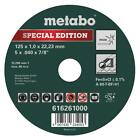 METABO CUTTING DISC SPECIAL EDITION 125 x 1,0 x 22,23 mm, Inox