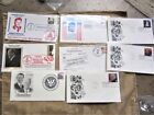 8 president 1st day cover stamps Ford, carter reagan Obama