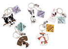 HH Wags  Whiskers Pet Keyring Gift Range 42 breeds available