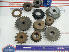 Lot of 11 Steel INDUSTRIAL GEAR LOT COG SPROCKET STEAMPUNK LAMP BASE CAST  1812