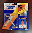 Starting Lineup 1992 Figure and Card Tom Glavine Atlanta Braves MLB