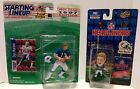STARTING LINEUP AND HEADLINERS LOT OF 2 DAN MARINO MIAMI DOLPHINS 1996 NOC