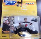 Starting Lineup 1997 NHL Martin Brodeur figurine and hockey card