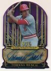 JOHNNY BENCH 2015 TOPPS TRIBUTE PURPLE DIE CUT AUTOGRAPH REDS AUTO #03 10 $250+