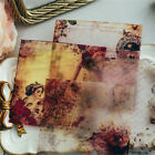 10pcs vintage vellum self adhesive stickers for scrapbooking card making