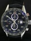 TAG Heuer Carrera CAR2A10-0 SS 44mm CAL 187 automatic chronograph men's watch
