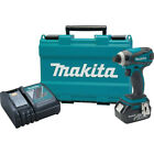 Makita 18V LXT Li Ion 1 4 in Impact Driver Kit XDT042 recon
