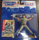 Starting Lineup 1997 Figure and Card Andy Pettitte Indians MLB
