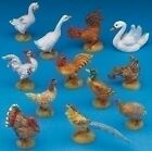 Fontanini Barnyard Birds Italian Nativity Accessory Figurine Set of 12 51517 New