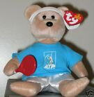 Ty Beanie Baby ~ FEDER-BEAR (ROGER FEDERER Tennis Bear)(ATP EXCLUSIVE) MWMT