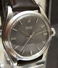 C1945 ROLEX 6426 OYSTER PRECISION ANTIQUE VINTAGE WATCH RARE GREY DIAL CAL 1225