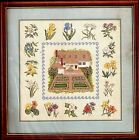 Elsa Williams Reflections of Williamsburg Gardens Counted Cross Stitch Kit