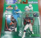 Starting Lineup 1998 NFL Extended Series Terrell Davis figurine and card