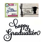 Happy Graduation metal die Impression Obsession cutting dies DIE669 N words