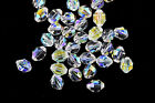 Swarovski Vintage 5302 Crystal AB Tapered Barrel Beads 85 x 6mm 8