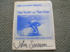 Vintage John Severson surf hi lights 59 60 surf movie poster surfboard signed