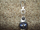 Fossil Pocket Watch FLASHER Time FOB SILVER - LIGHTS UP