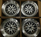 18 ESR SR1 Silver Wheels For Honda CRV Prelude Civic 18x85 5x1143 +30 Rims