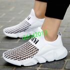 Men Summer Breathable Hollow Out Flat Casual Sneaker Sport Shoes boat shoes