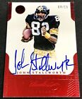 JOHN STALLWORTH 2015 Panini Flawless SUPER BOWL VICTORS AUTO AUTOGRAPH SP #04 15