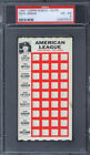 1967 Topps Punch Outs Dick Green PSA 4 Kansas City Athletics