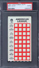 1967 Topps Punch Outs Max Alvis PSA 2 Cleveland Indians