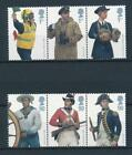 15640 Great Britain 2009  Uniforms Good Set of Very Fine MNH Stamps