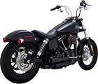 Vance  Hines Black Mini Grenade Exhaust System for 06 17 Harley Dyna FXDL FXDF