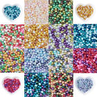 1Bag 4mm Mix Pearlized Glass Pearl Beads For DIY Jewelry Making about 400pcs bag