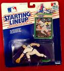 1989-Starting Lineup- Mark Grace- Figure /card- #17- Cubs baseball toy