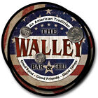 Walley Family Name Drink Coasters - 4pcs - Wine Beer Coffee & Bar Designs
