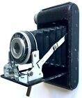VINTAGE 1950 ROLLEX 20 FIXED FOCUS FOLDING CAMERA ~ UNITED STATES CAMERA CO.