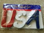 Usa Wooden 5 Inch Letters Wood Word Set United States