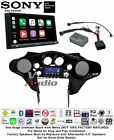 Sony XAV-AX5000 Double Din Install for 98-13 Harley Davidson Batwing Fairing