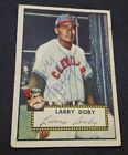 Autographed Auto Larry Doby (D.2003) 1952 Topps Card #243 Cleveland Indians