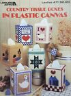 Country Tissue Boxes  Plastic Canvas Pattern Leaflet  Duck Goose Sheep Quilt