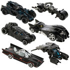 6pc Hot Wheels Cars Set DC Comics Batman Batmobile Die Cast Cars Toys Kids Adult