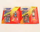 Starting Lineup Basketball Action Figures Lot of 2 1992 Larry Johnson Dee Brown