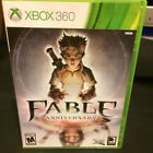 Replacement Case NO GAME Fable Anniversary for Sbox 360