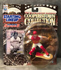 1997 Starting Lineup SLU Figure Cooperstown Collection JOHNNY BENCH Reds *MINT*
