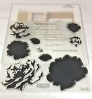 S1303 Floral Happiness Close to my Heart CTMH Acrylic Stamps Set Stamp of Month