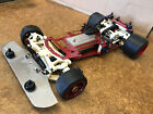 Vintage 1/8-Scale RED S.G. CHASSIS 4WD R/C Gas Rolling Racing Car