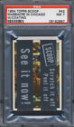 1954 Topps Scoop with Coating #42 St. Valentine's Day Massacre in Chicago PSA 7