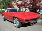 1964 Chevrolet Corvette Roadster Fuel Injection Convertible 1964 Chevrolet Corvette Fuel Injection Convertible 327 375 hp Matching Numbers