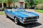 1971 Ford Mustang Mach 1 Convertible Gorgeous classic 302 V8 4bbl w Auto Trans and Power Steering