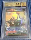 GARY PAYTON 2000-01 TOPPS FINEST MOMENTS REFRACTOR AUTO BGS 9.5 10 SUPERSONICE