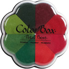 ColorBox Pigment Petal Point Option Ink Pad 8 Colors Poinsettia 17125 NEW
