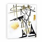 Two Palms Art Bazaar Rich Girl by Jenny Perez Painting Print on Plaque