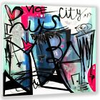 Two Palms Art Bazaar Vice City by Jenny Perez Painting Print on Plaque